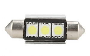 Żarówka LED C5W #LK16 white 36mm Festoon-5050-3 Canbus